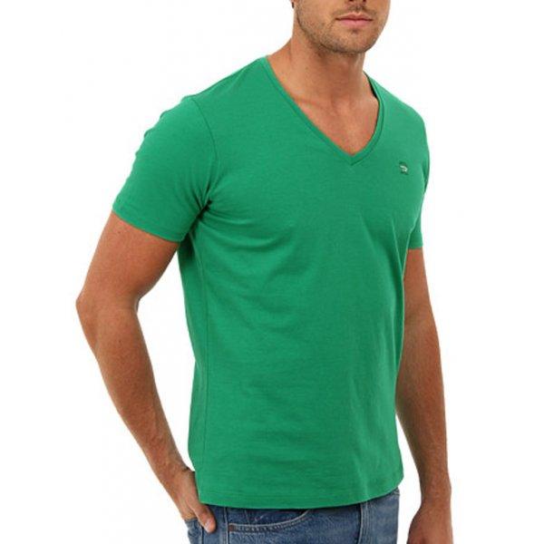 Diesel T-Shirt T-Ruth Green V-Neck Mens