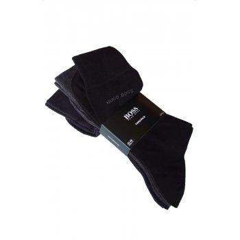 Hugo Boss Socks 3 Pack Black, Grey and Navy