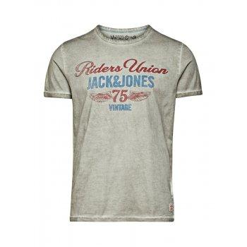 Jack & Jones Vintage T-shirt Motor Cycle Tee Faded Fog