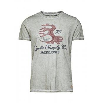 Jack & Jones Vintage T-shirt Motor Cycle Tee Faded Griffin