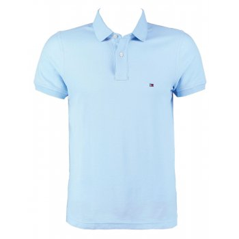 Tommy Hilfiger Polo Shirt Light Blue Regular Fit
