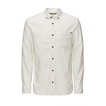 Jack & Jones Vintage Shirt Cristan Whisper White Nap Yarn