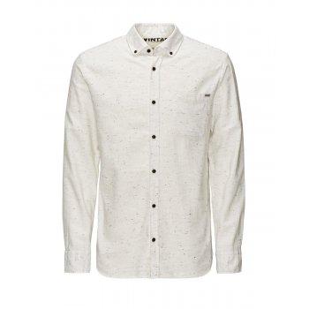 Jack & Jones Vintage Shirt Cristan Whisper White Nap Yarn
