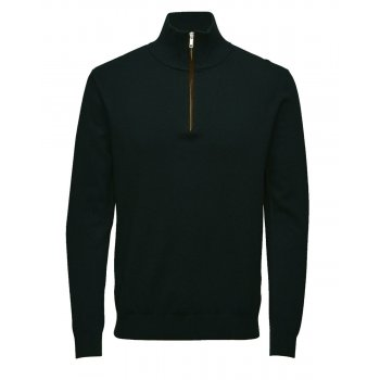 Jack & Jones Premium Jack Turtle Neck Knit Jumper Green