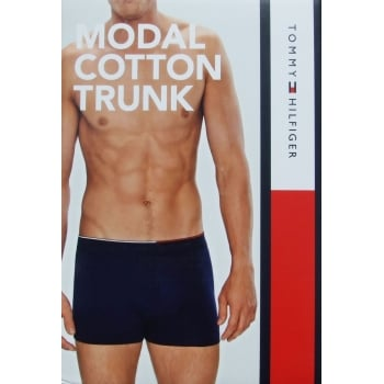 Tommy Hilfiger Modal Cotton Trunk Boxer Shorts White
