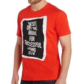 Diesel T-Shirt T-Pasc Red