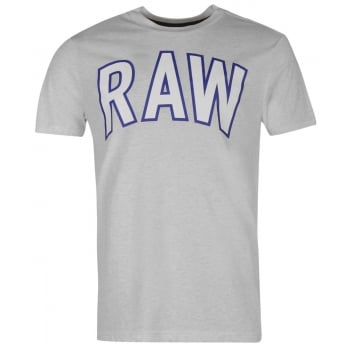 G-Star T-shirt Elevor Grey White Heather