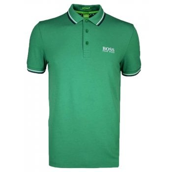 Hugo Boss Polo Shirt Paddy Pro Mens Green
