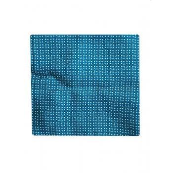 Hugo Boss Pocket Square Pastel Blue 100% Silk 50369980