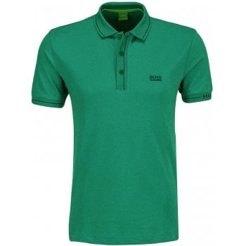 Hugo Boss Polo Shirt Mens Paule Green