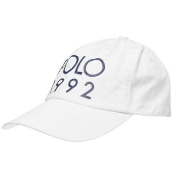 Ralph Lauren Polo Cap 1992 White