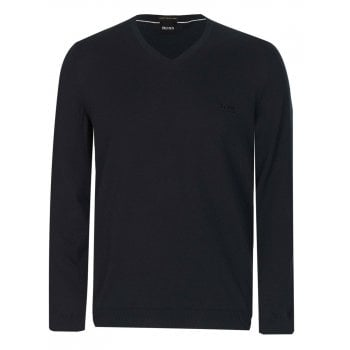 Hugo Boss Jumper Mens Pacello - L Black