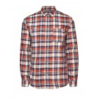 Jack & Jones Vintage Shirt Castleford Whisper White & Red