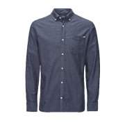 Jack & Jones Vintage Shirt Cristan Mood Indigo Nap Yarn